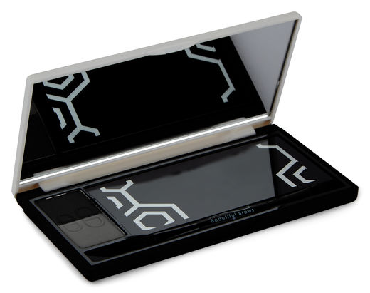 Beautiful Brows Nano Duo Kit, Slate - Black, 1 kpl